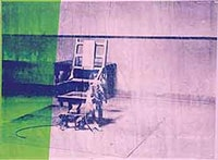 Andy Warhol, Big Electric Chair, 1967. Courtesy Hayward.