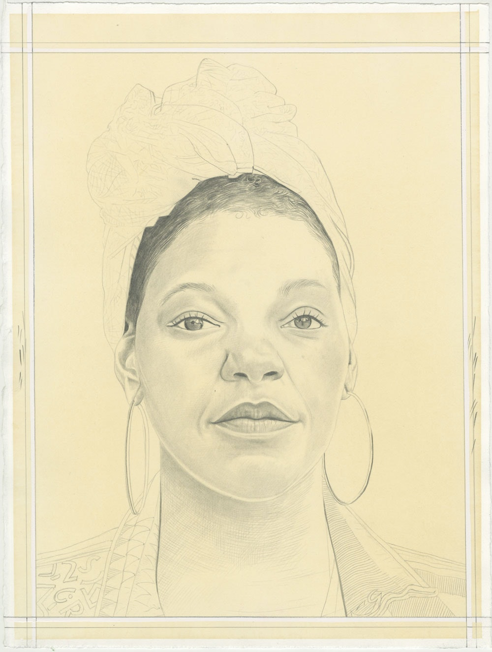 Mahogany L. Browne, pencil on paper by Phong H. Bui.