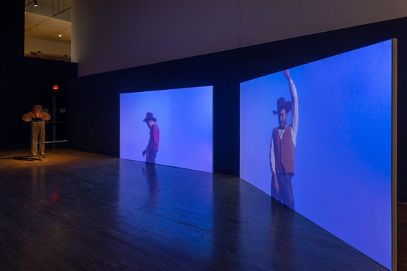 Installation view: <em>Kenneth Tam: Silent Spikes</em>, Queens Museum, 2021. Courtesy Queens Museum. Photo: Hai Zhang.