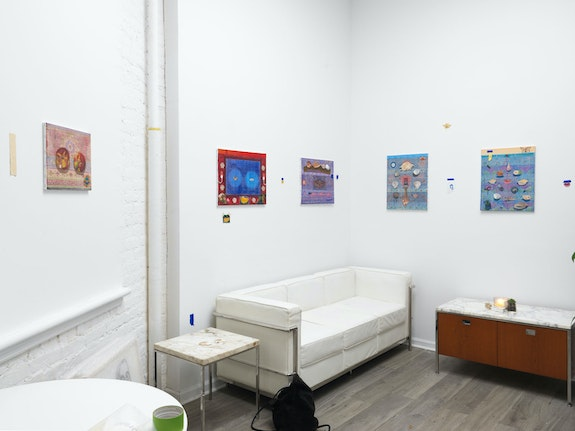 Installation view: <em>Talia Levitt: My Moon</em>, ATM Gallery, New York, 2021. Courtesy ATM Gallery.