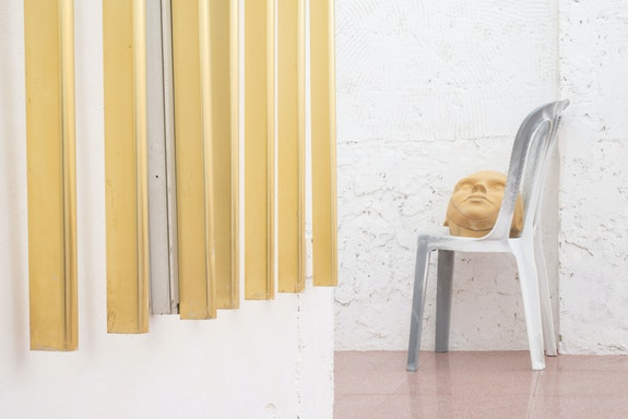 Installation view: <em>Marina Xenofontos: I DON'T SLEEP, I DREAM</em>, The Island Club, Limassol Cyprus. Courtesy the Island Club.