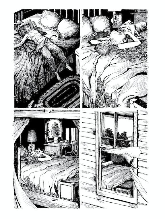 Barry Windsor-Smith, <em>Monsters</em>, Fantagraphics Books, p. 226.