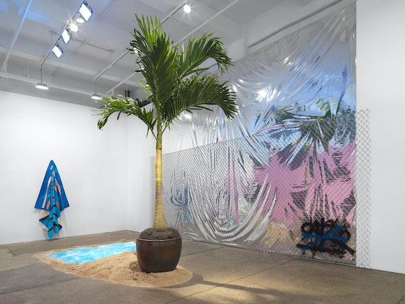 Installation view: <em>Tariku Shiferaw: It's a love thang, it's a joy thang</em>, Galerie Lelong & Co., New York, 2021. Courtesy Galerie Lelong & Co., New York.