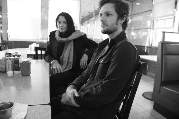 Anne Waldman and Diego Gerard. Photo by Raymond Foye. NY, 2020.