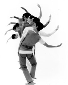 Trisha Brown's <i>Five Part Weather Invention</i>. Photo by Chris Callis.