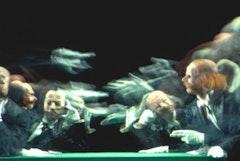 The Joffrey Ballet in Kurt Jooss's 1932 <i>The Green Table</i>. Photo by Herbert Migdoll.