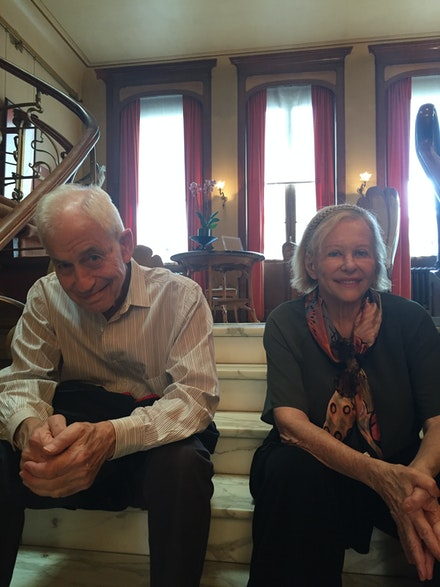 Richard Du Boff and Barbara Rose.