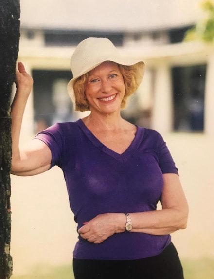 Barbara at Chautauqua, 2004.