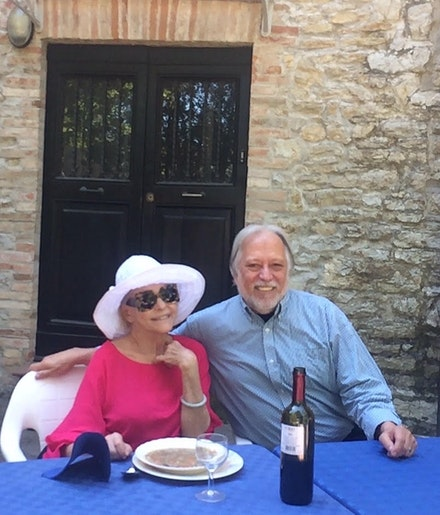 Barbara and Don, Pieve del Vescovo, Italy, 2019.