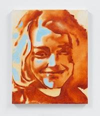 Wilhelm Sasnal, <em>Youth</em>, 2020. Oil on canvas, 19 3/4 x 15 3/4 inches. © Wilhelm Sasnal. Courtesy the artist and Anton Kern Gallery, New York.
