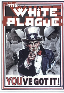 The poster for <i>White Plague</i> by Brian Corr.