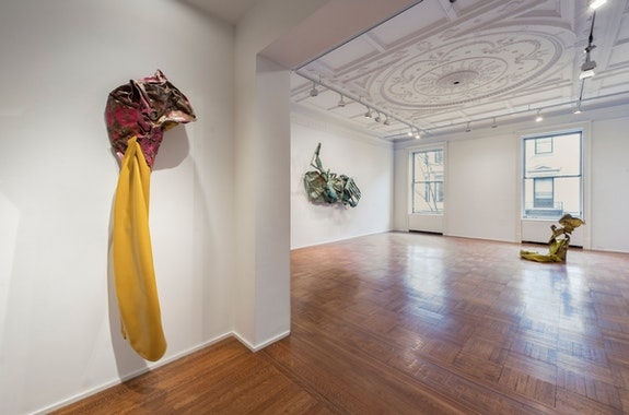Installation view: <em>Kennedy Yanko: Postcapitalist Desire</em>, Tilton Gallery, New York, 2021. Courtesy the artist and Tilton Gallery, New York.