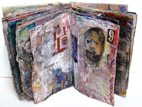 Marty Greenbaum, <em>Runaway</em>, 2010. Mixed Media, 8 x 11 1/4 x 4.