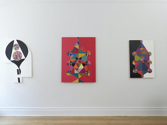 Installation view: <em>Marilyn Lerner: Walking Backward Running Forward—Again</em>, Kate Werble Gallery, New York 2021. Courtesy the artist and Kate Werble Gallery, New York. Photo: Elisabeth Bernstein.