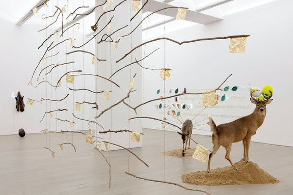 Installation view: <em>Gabriel Rico: Of Beauty and Consolation</em>, Perrotin New York, 2021. Photo: Guillaume Ziccarelli. Courtesy the artist and Perrotin.