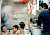 Thomas Holton, <em>Bath Time</em>, 2004. Courtesy Home Gallery.