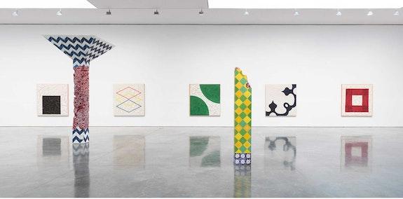 Installation view: <em>Adriana Varejão: Talavera</em>, Gagosian, New York, 2021. © Adriana Varejão. Photo: Robert McKeever. Courtesy Gagosian.