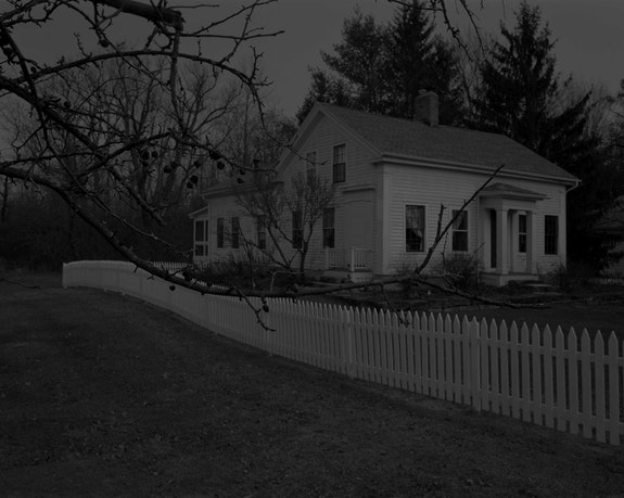 Dawoud Bey, <em>Untitled #1 (Picket Fence and Farmhouse), from