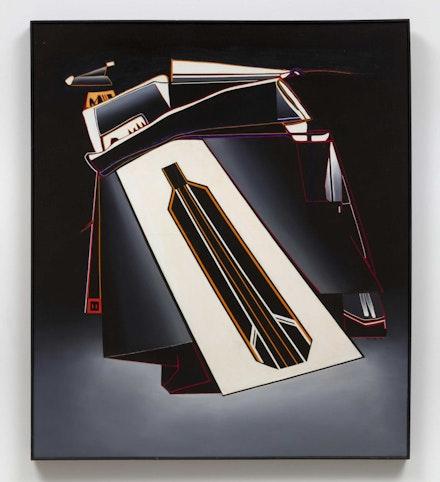 Deborah Remington, <em>March</em>, 1964. Oil on canvas, 57 1/4 x 49 1/2 inches. Courtesy The Deborah Remington Trust and Bortolami Gallery, New York.