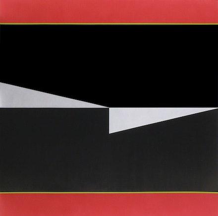 Don Voisine, <em>Cutter</em>, 2019. Oil on wood panel, 60 x 60 inches. Courtesy McKenzie Fine Art.