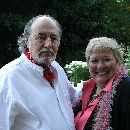 Aldo Tambellini and Anna Salamone.