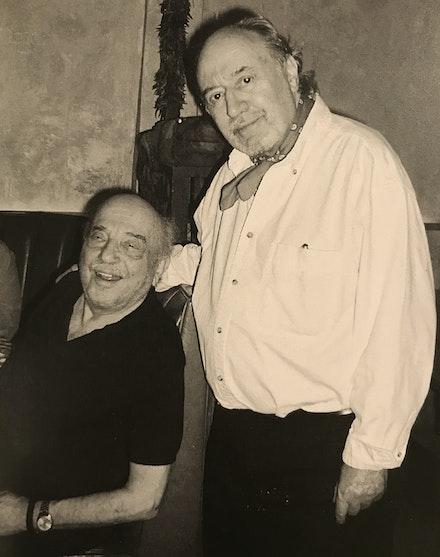 Aldo and Boris Lurie, NY, 2005. Photo: Anna Salamone.