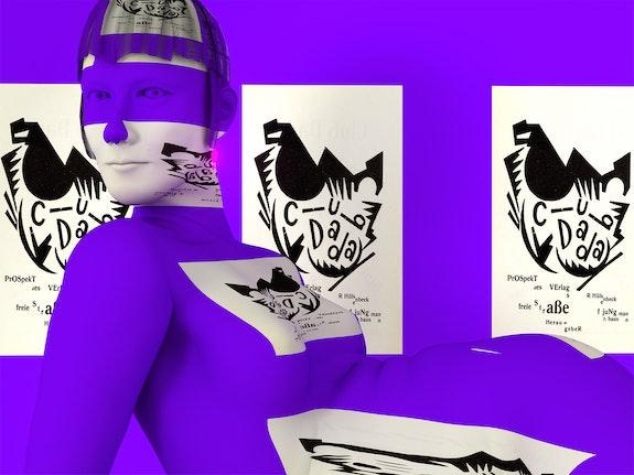 Claudia Hart, <em>kiki.object</em>, 2021. 3D-rendered animation, certificate 2400 × 1800 pixels; 1200 × 900 pixels. Animated GIF, JPEG. Courtesy Feral File. </em>