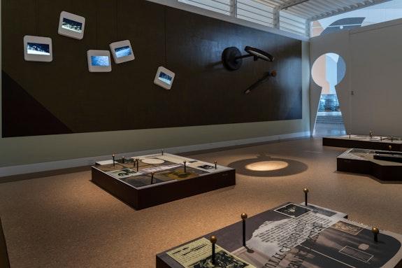 Installation view: <em>Sydney Shen: Strange But True</em>, Queens Museum, 2021. Courtesy the Queens Museum. Photo: Hai Zhang.