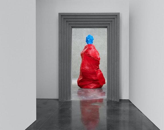 Installation view: <em>Ugo Rondinone: nuns + monks</em>, Gladstone Gallery, New York, 2021. Courtesy the artist and Gladstone Gallery, New York and Brussels.