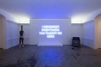 Installation view: <em>Feedback</em>, Jack Shainman Gallery, The School Kinderhook, New York, 2021. Courtesy Jack Shainman.