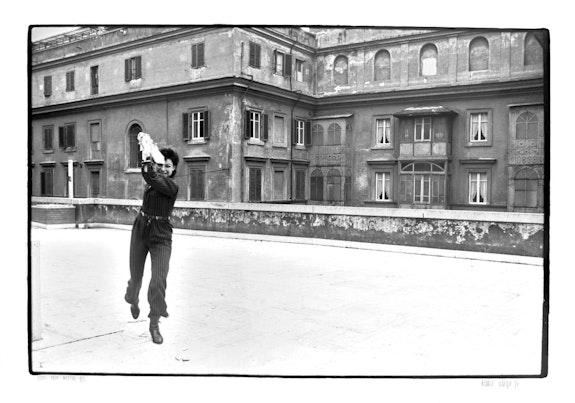 Hannah Villiger, Rom, 1976. Photo: Trix Wetter © The Estate of Hannah Villiger.