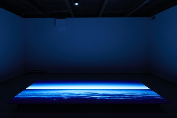 Installation view: <em>Rindon Johnson: Law of Large Numbers: Our Bodies</em>, SculptureCenter, Long Island City, 2021. Courtesy SculptureCenter.