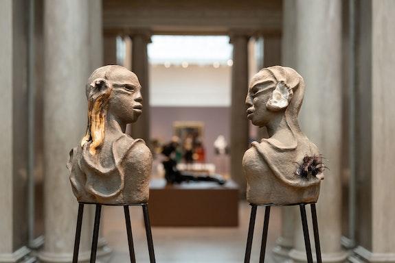 Wangechi Mutu, <em>I am Speaking, Can You Hear Me?</em>, 2020. © Wangechi Mutu. Courtesy the artist and Gladstone Gallery, New York and Brussels.