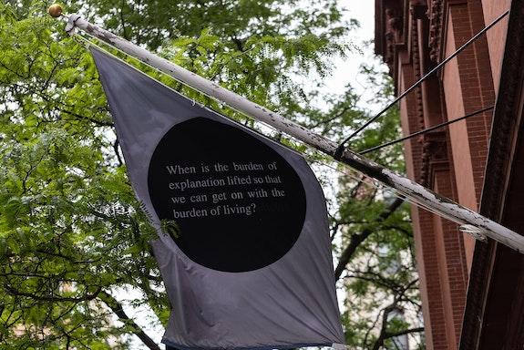 Installation view: <em>Chloë Bass: The Parts</em>, Brooklyn Public Library, New York, 2021. Courtesy Brooklyn Public Library. Photo: Gregg Richards.