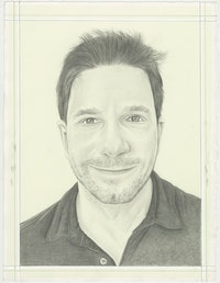 Christian K. Kleinbub, pencil on paper by Phong H. Bui