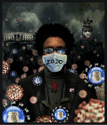John Sims, <em>2020: A Self Portrait</em>, 2020. Courtesy the artist.