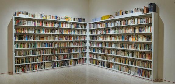 Installation view: <em>Gregg Bordowitz: I Wanna Be Well</em>, MoMA PS1, 2021. Courtesy MoMA PS1. Photo: Kyle Knodell.