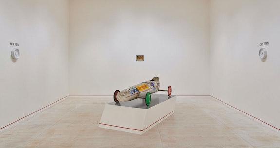 Installation view: Gregg Bordowitz: <em>I Wanna Be Well</em>, MoMA PS1, 2021. Courtesy MoMA PS1. Photo: Kyle Knodell.
