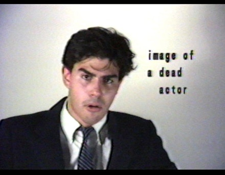 Gregg Bordowitz, <em>some aspect of a shared lifestyle</em>, 1986. Video (color, sound). 22 min., 23 sec. Courtesy the artist and Video Data Bank at the School of the Art Institute of Chicago.