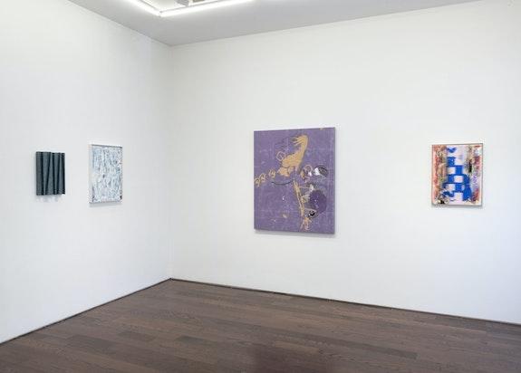Installation view: <em>Wrecked Angle</em>, Ceysson & Bénétière, New York, 2021. Courtesy Ceysson & Bénétière. Photo: ©Adam Reich.