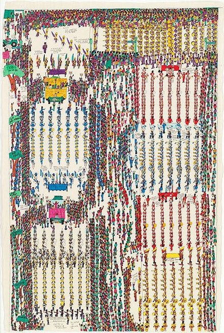 Dapper Bruce Lafitte (formerly Bruce Davenport Jr.), <em>This is Some Bad Shit</em>, 2010. Courtesy David Byrne.