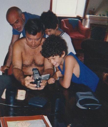 Francesco Clemente, Diego Cortez, Pietro Clemente, Andrea Clemente. Photo: Jordan Galland.