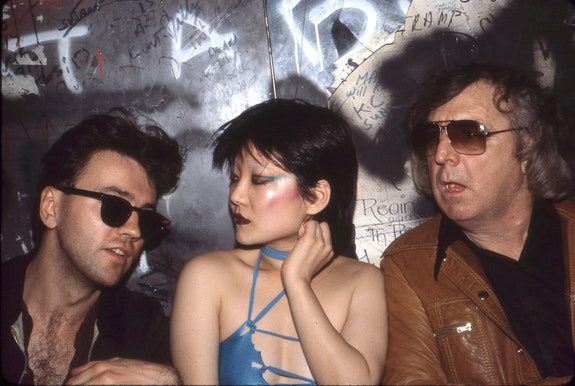 Diego, Anya Phillips and Terry Southern at Max's Kansas City. © Marcia Resnick 1978. Photo: Marcia Resnick.