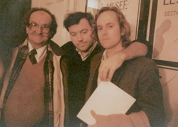 John Wieners, Diego Cortez, Raymond Foye, NYC, 1990. Courtesy Raymond Foye.