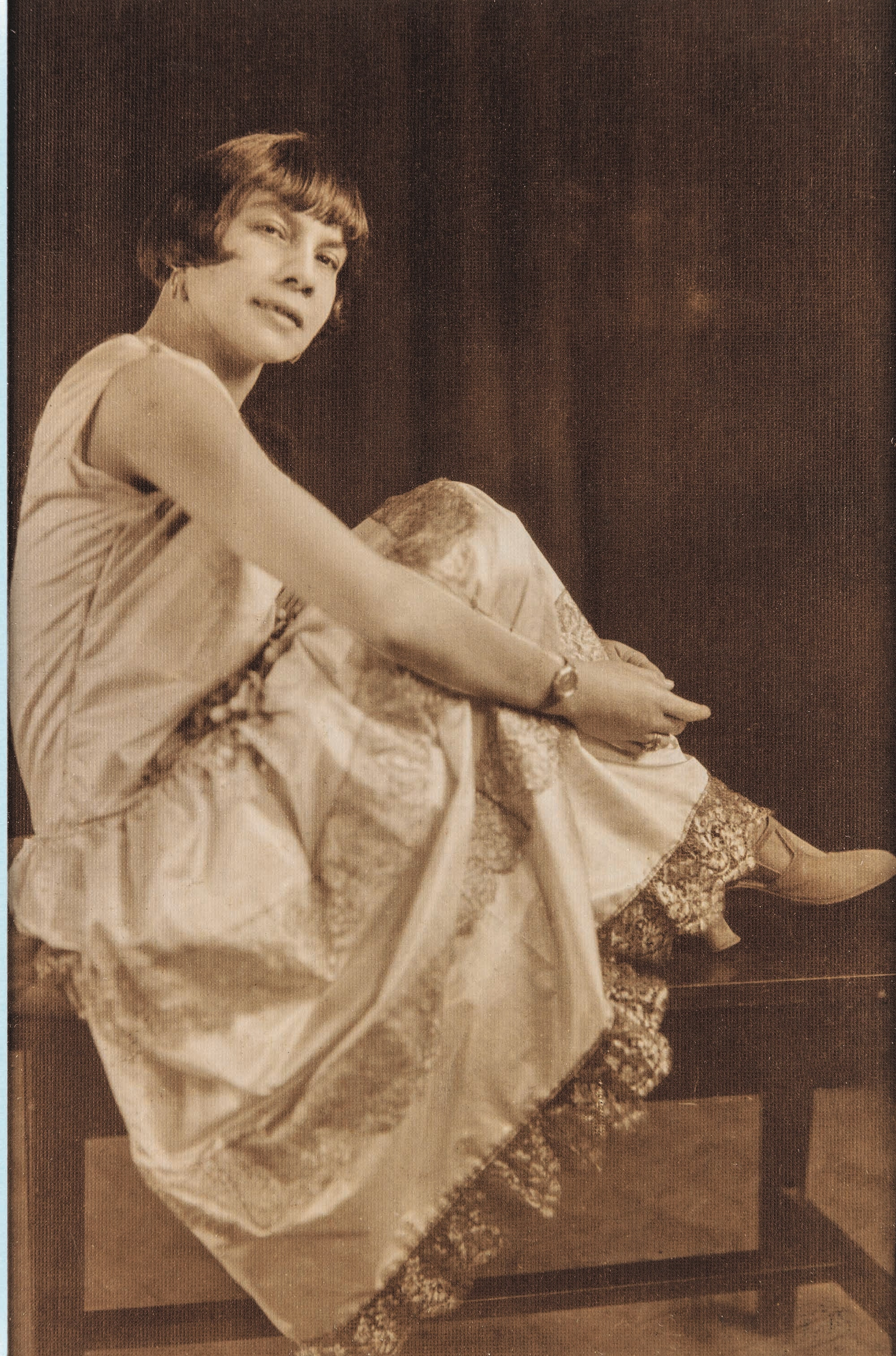 Florestine Perrault Collins, <em>Portrait of Mae Fuller Keller</em>, early 1920s. Gelatin silver print14 x 11 inches. Collection of Dr. Arthé A. Anthony.
