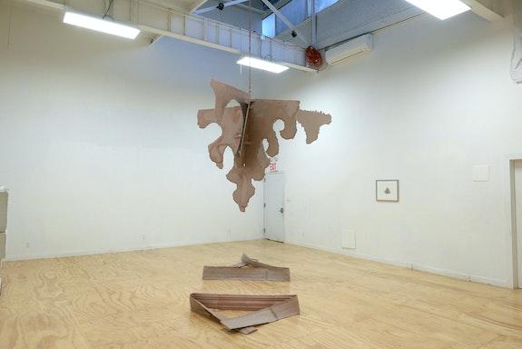 Installation view: Eamon DeFabbia-Kane: <em>Aberration</em>, Putty's Coronation, Brooklyn, 2021. Courtesy Putty's Coronation.