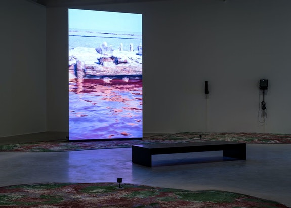 Installation view: <em>Prélude, </em>La Mécanique Générale, LUMA Arles, Parc des Ateliers, France. © Marc Domage. Courtesy LUMA Arles.