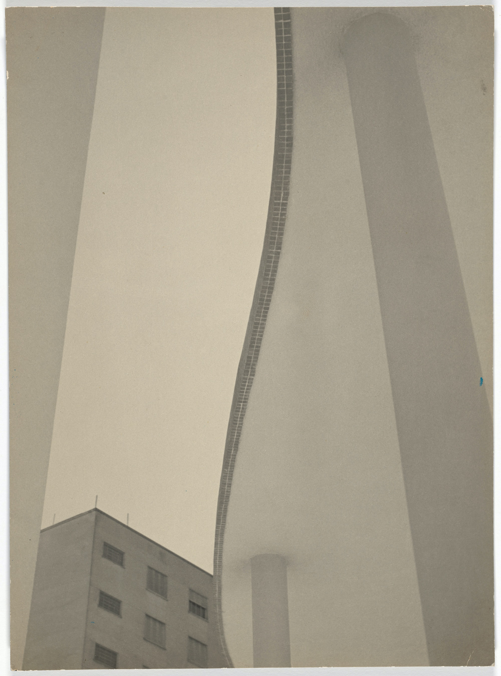Gertrudes Altschul, <em>Lines and Tones (Linhas e tons)</em>, 1953. Gelatin silver print, 14 7/8 x 11 inches. The Museum of Modern Art, New York. Acquired through the generosity of Amie Rath Nuttall. © 2021 Estate of Gertrudes Altschul.