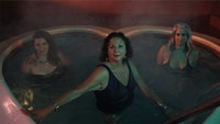 <p>Samantha Nye, <em>Visual Pleasure/Jukebox Cinema - SILENCER (Heart-Shaped Dance)</em>, 2016. HD Video. Courtesy of the artist. © Samantha Nye 2021. Courtesy Museum of Fine Arts, Boston</p>