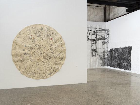 <p>Installation view: <em>Dawn Clements, Living Large: A Survey</em>, Mana Contemporary, Jersey City, 2021. Courtesy Mana Contemporary. Photo: John Berens. </p>